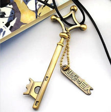 Load image into Gallery viewer, Attack On Titan Key Metal Pendant