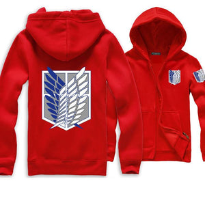 Attack On Titan Hoodie 7 Color Variations