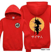 Load image into Gallery viewer, Dragon Ball Z Son Goku Hoodie 4 Colors