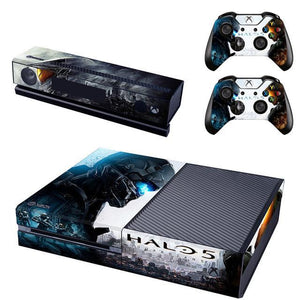 Halo 5 Xbox One Protective Vinyl Skin 2 Controllers
