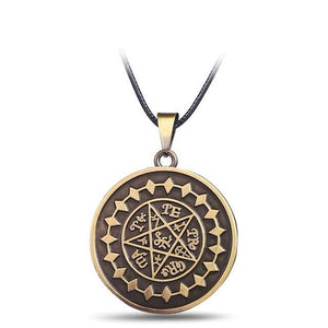 Black Butler Demon Eye Pentagram Necklace
