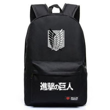 Load image into Gallery viewer, Attack On Titan Anime Backpack 5 Colors