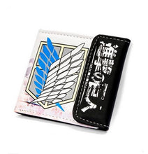 Load image into Gallery viewer, Attack On Titan Wings Of Liberty Short Style Wallet