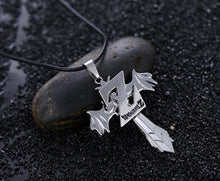 Load image into Gallery viewer, Dragon Ball Z Cross Metal Alloy Necklace