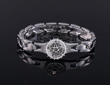 Load image into Gallery viewer, Black Butler Silver Metal Anime Bracelet
