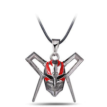 Load image into Gallery viewer, Bleach Mask Metal Anime Necklace