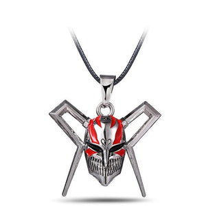 Bleach Mask Metal Anime Necklace