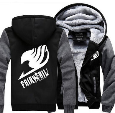 Fairy Tail Winter Anime Hoodie 3 Colors