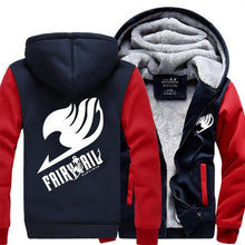 Load image into Gallery viewer, Fairy Tail Winter Anime Hoodie 3 Colors