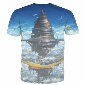 Sword Art Online Hipster 3D Short Sleeve t-Shirt