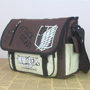 Attack On Titan Outdoor Travel Shoulder Bag