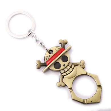 One Piece Luffy Knuckle Duster Anime Key Chain