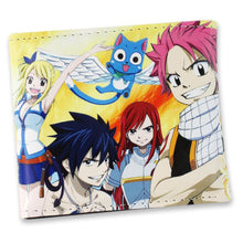 Load image into Gallery viewer, Fairy Tail Anime Short Style Wallet