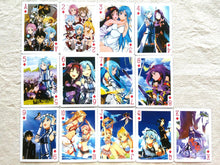 Load image into Gallery viewer, Sword Art Online Playing Cards - Style 1