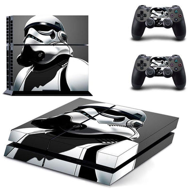 Star Wars PS4 Storm Trooper Protective Vinyl Skin 2 Controllers