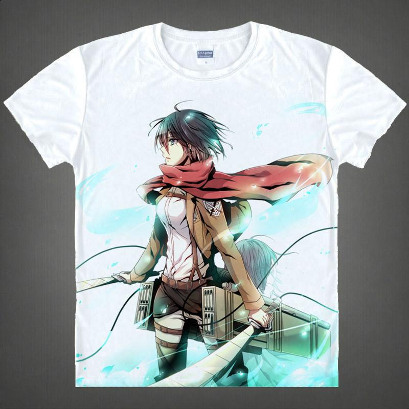 Attack On Titan Short Sleeve T-Shirt V12