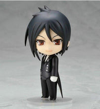 "Load image into Gallery viewer, 4"" Black Butler Sebastian Figure - 3 Faces"