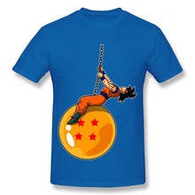 Load image into Gallery viewer, Dragonball Z Funny Goku Wrecking Ball Parody T-Shirt