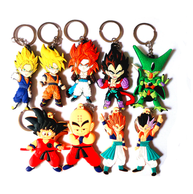 Dragon Ball Z Character Anime Key Chain 7 Styles