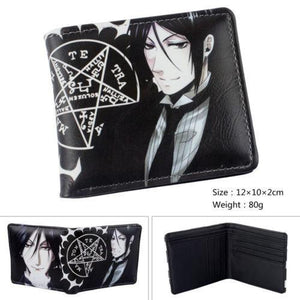 Black Butler Colorful Anime Wallet Short
