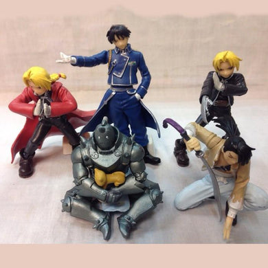 Fullmetal Alchemist 5 Piece Action Figure Set