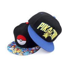 Load image into Gallery viewer, Pokemon Snapback Hat Cosplay Team Valor Mystic Instict 3 Styles