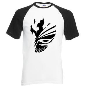 Bleach Kurosaki Ichigo Cotton Color Sleeve T-Shirt (6 Colors)