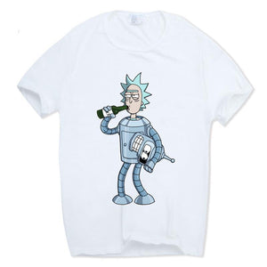 Rick And Morty Funny Casual T-Shirt