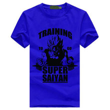 Load image into Gallery viewer, Training To Go Super Saiyan Dragon Ball Z T-Shirt