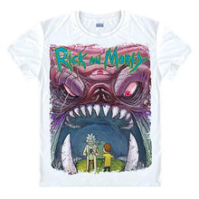 Load image into Gallery viewer, Rick And Morty Colorful Trippy Design T-Shirt