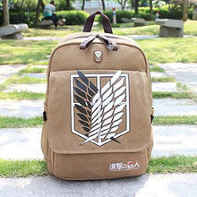 Load image into Gallery viewer, Attack On Titan Backpack School Bag Shingeki No Kyojin