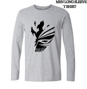 Bleach Kurosaki Ichigo Long Sleeve Cotton T-Shirt