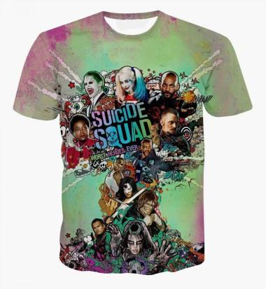 Harley Quinn Deadpool T-Shirt Suicide Squad