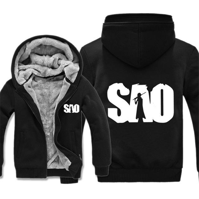 Sword Art Online Thick Winter Hoodie