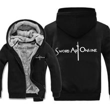 Load image into Gallery viewer, Sword Art Online Thick Winter Hoodie