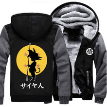 Load image into Gallery viewer, Goku Dragon Ball Z Thick Winter Hoodie Jacket Sweatshirt