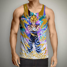 Load image into Gallery viewer, Dragon Ball Z Super Saiyan 3D Tank Tops (13 Styles)