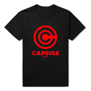 Dragon Ball Z Capsule Corp T-Shirt 9 Colors