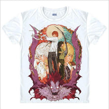 Load image into Gallery viewer, Death Note Japanese Anime T-Shirt L. Lawliet Kira Light Yagami 8 Styles