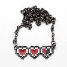 Load image into Gallery viewer, Legend Of Zelda Heart Life Necklace