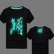 Load image into Gallery viewer, Naruto Uzumaki Fluorescent Glow In The Dark T-Shirts