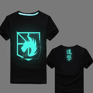 Attack On Titan Glow In The Dark T-Shirt