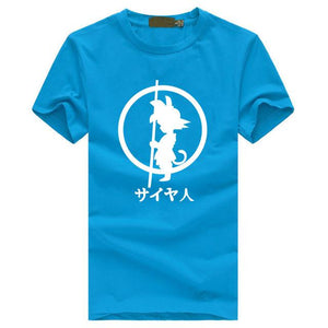 Anime Dragon Ball Z Kid Son Goku T-Shirt