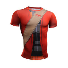 Load image into Gallery viewer, Naruto Armor Cosplay Fitness Men T-Shirts (10 Styles)