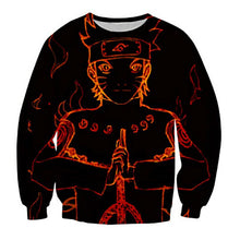 Load image into Gallery viewer, Anime Naruto Crewneck Sweatshirt 3D Pullover