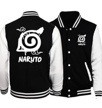 Load image into Gallery viewer, Naruto Jersey Jacket Anime Style