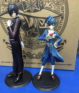 Black Butler Ciel Sebastian Action Figure Set 2 Pieces