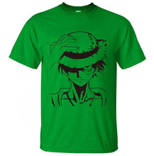 Load image into Gallery viewer, One Piece Monkey D. Luffy Anime T-Shirt (12 Colors)