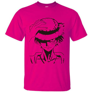 One Piece Monkey D. Luffy Anime T-Shirt (12 Colors)