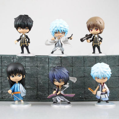 Gintama Action Figures Sakata Gintoki Chibi Cute 6